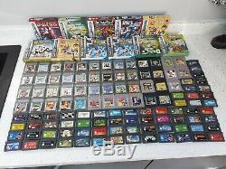 125 Nintendo Gameboy Advance Sp Original Colour Games Bundle Large Lot