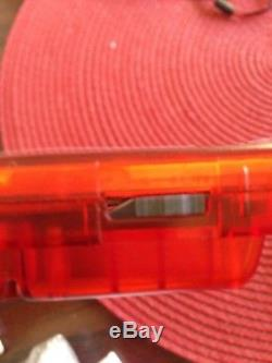 AGS 101 Nintendo Game Boy Color Clear Red Handheld System BACKLIT