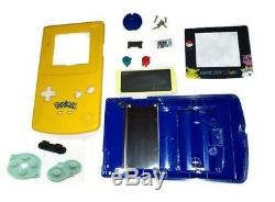 Austausch Ersatzteile Passend für Gameboy Color GBC Gehäuse Pokemon Gelb Blau