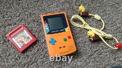 Authentic NINTENDO GAME BOY COLOR Pokemon 3rd Anniversary Limited Edition