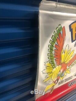 Authentic Nintendo Gameboy Color Pokemon Promo Retail Store Display Banner