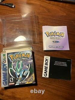 BOX ONLY Pokemon Crystal (Nintendo Gameboy Color) GOOD SHAPE GBC