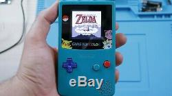 Backlight Game Boy Color! MidWest LCD Gameboy Color Modded Console Like Mcwil