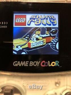 Backlit Gameboy Color, Backlight Gbc With Games