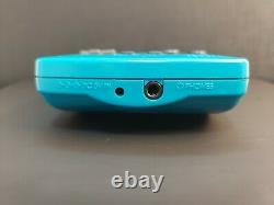 Blue Teal Backlit Gameboy Color with IPS V2 Backlight CGB-001 Color Changing
