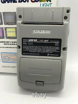Boxed Nintendo Gameboy Color Light Super Famicom IPS Backlight & Glass Screen