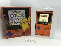 Boxed Nintendo Gameboy Color Pokemon Center 3rd Anniversary IPS Backlight