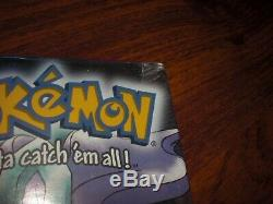 Brand New Factory Sealed Pokemon Crystal Version For Game Boy Color NEVER OPENED