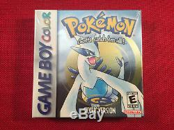 Brand New Factory Sealed Pokemon Silver Version Nintendo Game Boy Color Game