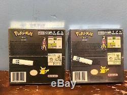 Brand New Sealed Nintendo Game Boy Color Game Pokemon Silver & Gold Version