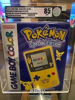 Brand new 2001 special edition VGA graded Pokemon Game Boy colour