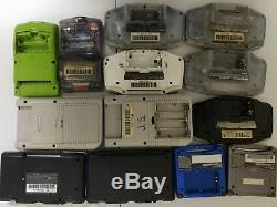 Broken Nintendo Handheld Lot GameBoy Advance SP Color DS For Parts/Repair
