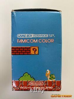 CONSOLE GAME BOY ADVANCE SP Famicom Color Nintendo GBA SP JAPAN