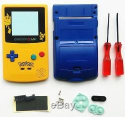 Carcasa Gameboy Color Pokemon Pikachu Housing Case Game Boy Color Gbc New Nueva