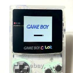 Clear Nintendo Game Boy Color GBC Backlight Backlit Mod New LCD Screen