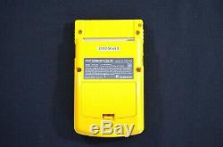 Complete New Nintendo Game Boy Color Open Box Japan Dandelion Yellow