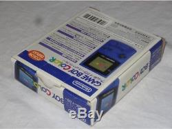 Console Game Boy Color Midnight Blue Toys R Us edition Complet Import Japan