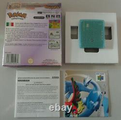Console Nintendo Game Boy Color ITA Suicune Crystal Pokemon Versione Cristallo