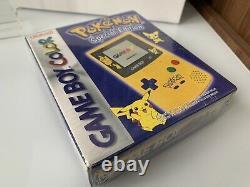 Console Nintendo Game Boy Color Special Edition Pikachu neuf Blister EUR