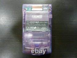 Console Nintendo Game Boy Color Violet Transparent voir descriptif