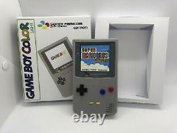 Custom Boxed Nintendo Gameboy Color Light Super Famicom IPS Q5 OSD Backlight