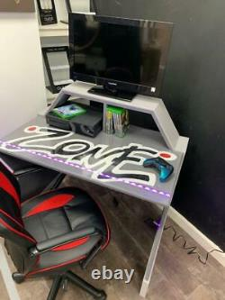Customised gaming desks. Great for kids and teens. Choose your size & colour