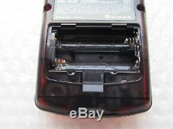 Daiei Hawks Japan Import Clear Orange Black Nintendo Game Boy Color Atomic Rare