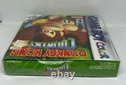 Donkey Kong Country (Nintendo Game Boy Color, 2000) SEALED NEW NIB WATA VGA