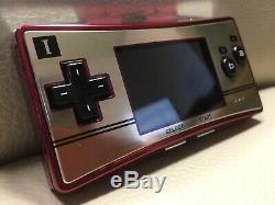 Ex+ Nintendo Game Boy Micro 20th Famicom NES color Game console