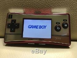 Excellent Nintendo Game Boy Micro 20th Famicom NES color Game console F/S