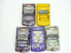 FOR PARTS! Lot of 10pcs Set Nintendo GameBoy Color Console System GBC #1457