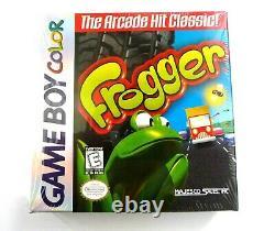 FROGGER (Nintendo Game Boy Color, 1998)Brand NEW SEALED CASE FRESH CASE of 6