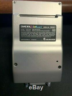 Freckle Shack Backlit Gameboy Color Boxypixel Aluminum Shell Rechargeable GBC