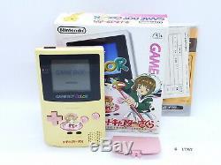 Fully Tested! Nintendo GameBoy Color Cardcaptor Sakura LTD White & Pink #1767