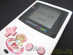GAME BOY COLOR Cardcaptor Sakura Boxed CGB-001 Pink White NINTENDO Pre-Owned