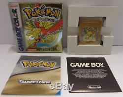 GBC Nintendo Console Game Boy GameBoy Color Italiano ITA IT POKEMON VERSIONE ORO