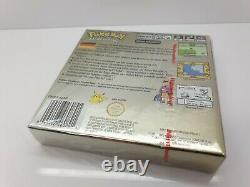 GOLD POKEMON GOLDENE EDITION SEALED NINTENDO GAME BOY COLOR 100% Original