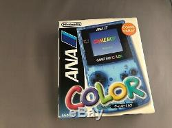Game Boy Color ANA NFS Rare Limited Nintendo Japan System ANA Edition NEW