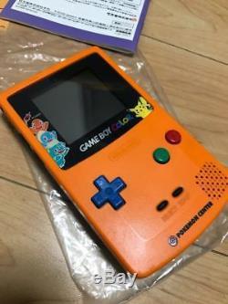 Game Boy Color Body Pokemon 3rd Anniversary Version limited mint pockemon center