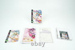 Game Boy Color Clear Cherry Pink Sakura Taisen Limited Japan CiB OVP Boxed