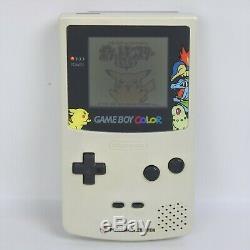 Game Boy Color POKEMON CENTER GOLD SILVER Console Boxed Tested Nintendo 992 gb