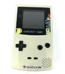 Game Boy Color Pokemon Center Limited Pikachu Silver Gold Nintendo System Japan