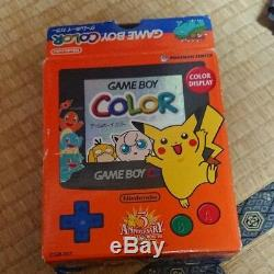 Game Boy Color Pokemon Center Original 3rd Anniversary Version Nintendo
