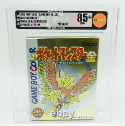 Game Boy Color Pokemon Gold Version New / VGA 85+ Near Mint+ Japanese Version