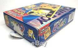 Game Boy Color Pokemon Pikachu Edition Complete in Box CIB Rare Nice