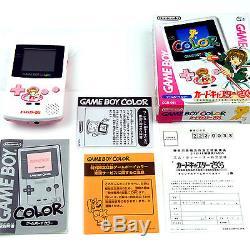 Game Boy Color SAKURA System Nintendo Japan, Mint