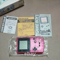 Game Boy Color Sakura Taisen Limited Edition Console Pink Japan Nintendo USED