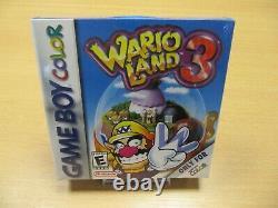 Game Boy Color Wario Land 3 Top Pataco Box Ovp Neu
