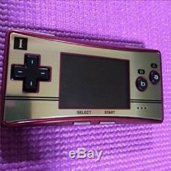 Game Boy Micro Famicom Color Charger Nintendo Soft 16 Set Used Good F/S Japan