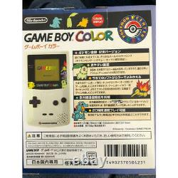 Game Boy color Pokemon Center limited edition BOXED NEW